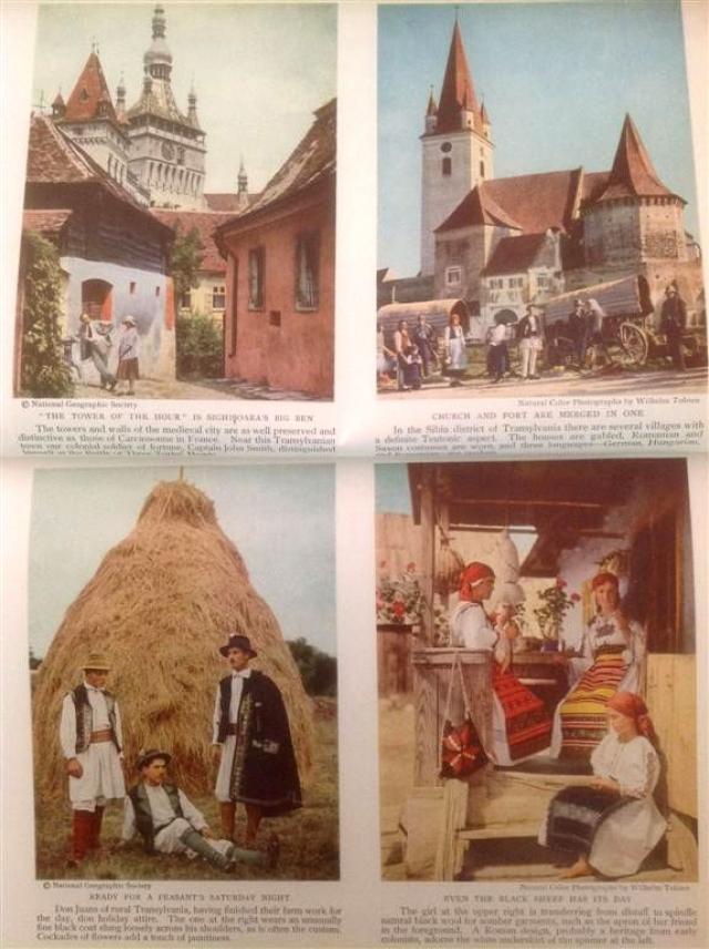 Romania anului 1934: o calatorie cu National Geographic printre