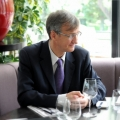 @Wall-Street Lunch - Benoit Catel, presedintele Volksbank Romania - Foto 1 din 19
