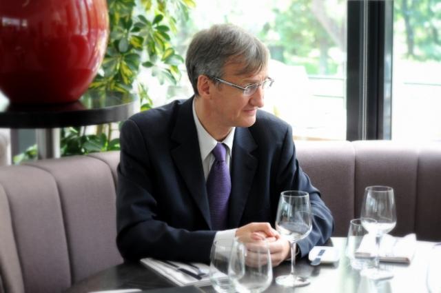 Pranz cu francezul glumet de la conducerea Volksbank: despre locurile deosebite si antreprenoriatul de aici - Foto 1 din 19