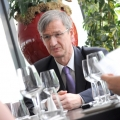 @Wall-Street Lunch - Benoit Catel, presedintele Volksbank Romania - Foto 5 din 19