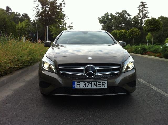 Test Drive Wall-Street: Mercedes-Benz A180 CDI, inspirat din natura - Foto 1 din 26