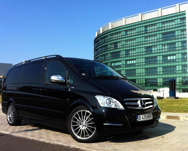 Test Drive Wall-Street: Mercedes-Benz Viano, 7 locuri la business class - Foto 1 din 30
