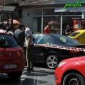 UPDATE - Femeia care a ranit un sofer in Piata Dorobanti a folosit de fapt un spray lacrimogen [FOTO] - Foto 1