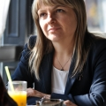 Pranz cu Adriana Tanasoiu (Depozitarul Central) - Foto 4 din 12