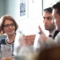 """Intalnirile WALL-STREET.RO: Inovatia in business este un """"diamant"""". INOVATI cu ajutorul oamenilor din echipele voastre! - Foto 7"""