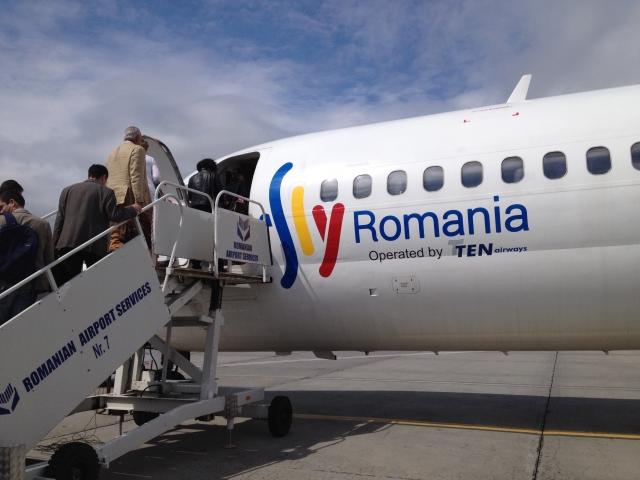 Fly Romania a efectuat primul zbor de linie catre Tulcea. Pe ce mizeaza Ovidiu Tender - Foto 1 din 21