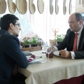 La pranz cu Ionut Dumitru: profesorul universitar si economistul sef care taxeaza statul pentru oric - Foto 1 din 9