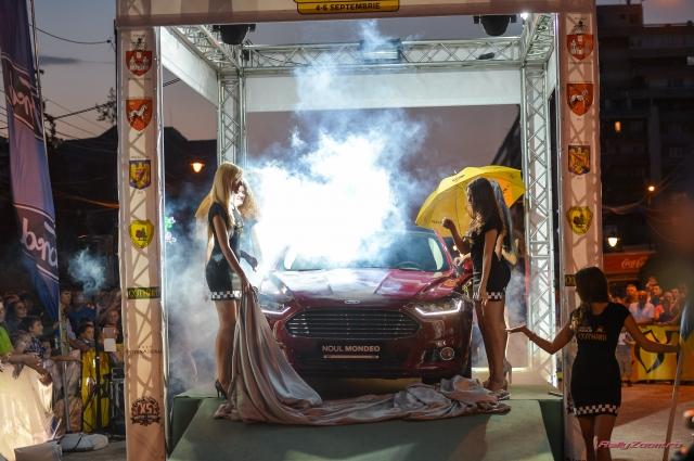 Ford a prezentat in premiera in Romania noul Mondeo la Raliul Iasului - Foto 1 din 12