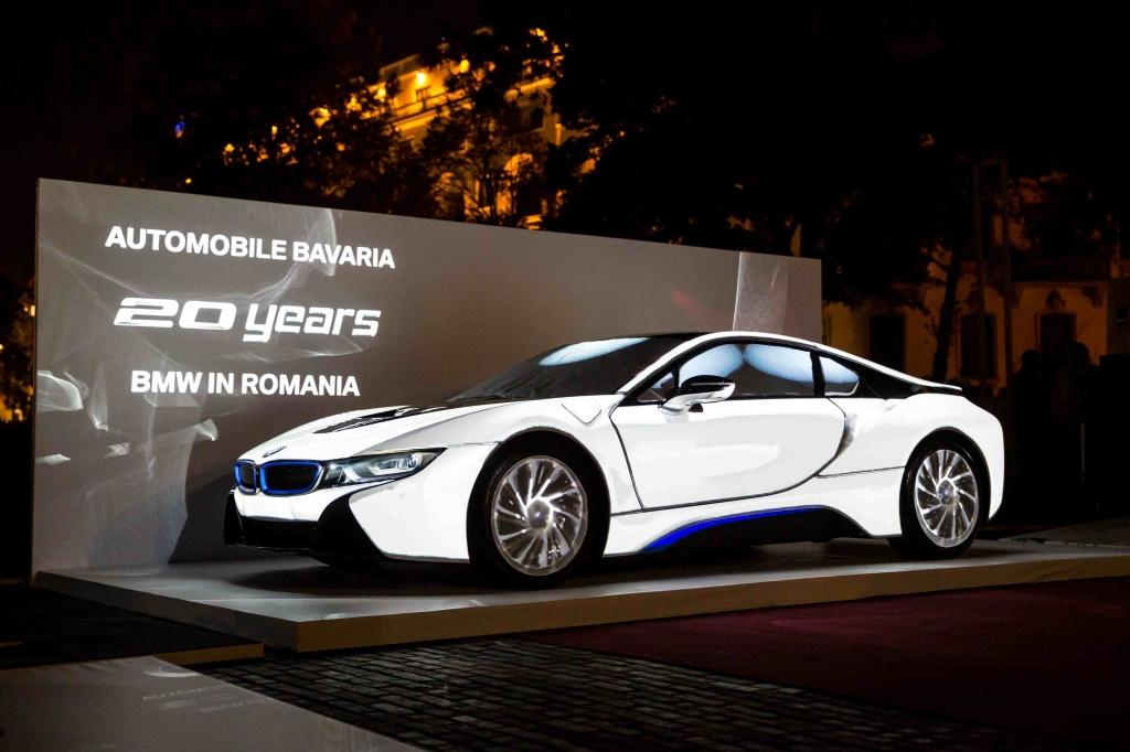Automobile Bavaria a prezentat in avanpremiera pentru Romania modelul BMW i8 - Foto 1 din 8