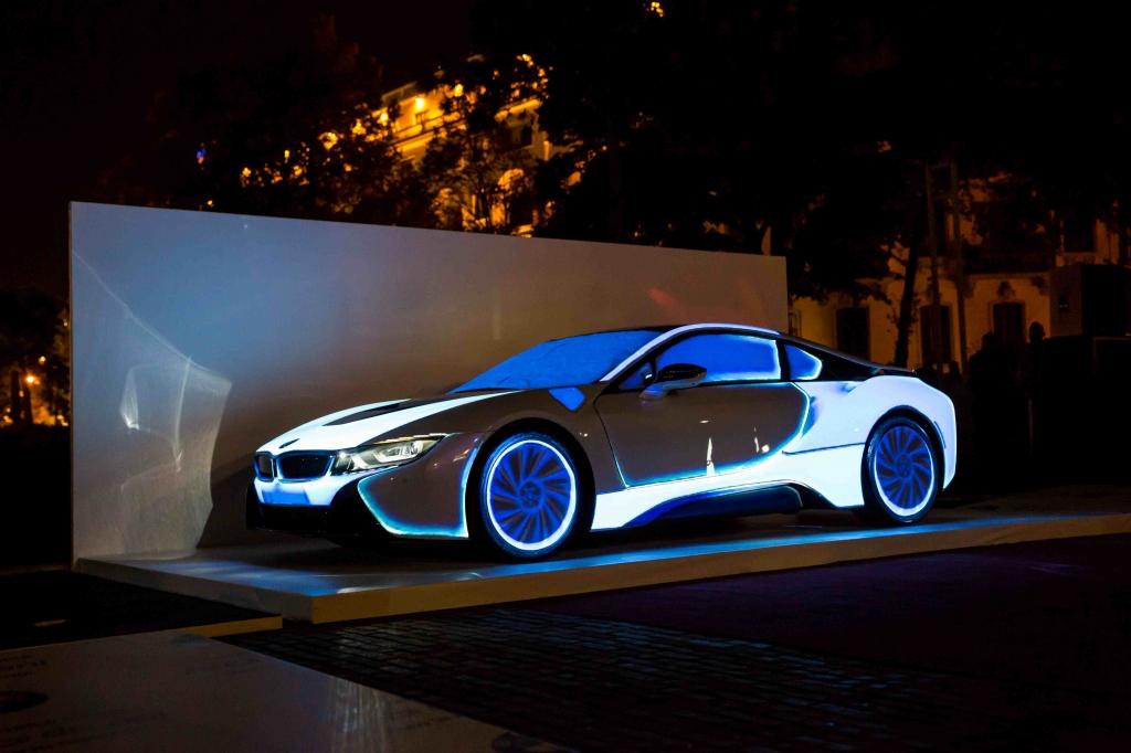 Automobile Bavaria a prezentat in avanpremiera pentru Romania modelul BMW i8 - Foto 7 din 8
