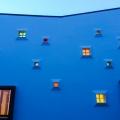Casa cu lumini colorate - Foto 1 din 5