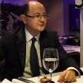 La pranz cu Catalin Cretu, director Visa Europe pentru Romania, Croatia si Slovenia - Foto 1 din 8