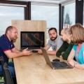 Un birou care inspira: cum lucreaza angajatii Yonder din Iasi - Foto 9