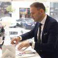 La pranz cu Tibor Pandi, seful Citibank pe Romania - Foto 5 din 16