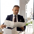 La pranz cu Tibor Pandi, seful Citibank pe Romania - Foto 9 din 16