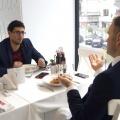 La pranz cu Tibor Pandi, seful Citibank pe Romania - Foto 15 din 16