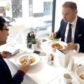 La pranz cu Tibor Pandi, seful Citibank pe Romania - Foto 16 din 16