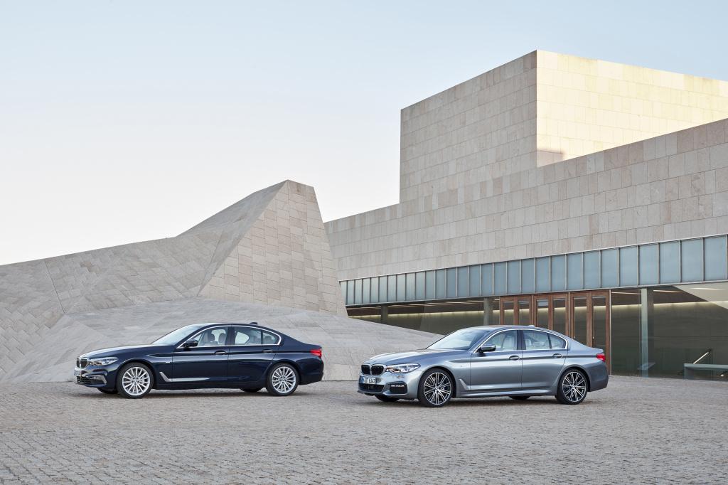 BMW Seria 5 va costa intre 49.500 si 62.280 euro cu TVA in Romania. Noul model soseste in primavara 2017 - Foto 1 din 5