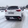 Test drive cu Mazda CX-5 Takumi. Cum se comporta un diesel japonez la - 10 grade - Foto 10