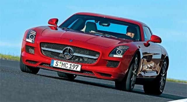Mercedes-Benz SLS AMG costa 177.300 euro in Romania - Foto 1 din 9