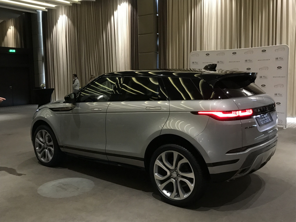 A doua generatie Range Rover Evoque a fost lansata pe piata din Romania - Foto 1 din 8