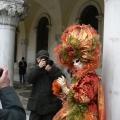 Italia, in straie de sarbatoare: Vezi cum arata Carnavalul de la Venetia in 2010 - Foto 11 din 36