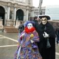 Italia, in straie de sarbatoare: Vezi cum arata Carnavalul de la Venetia in 2010 - Foto 12 din 36