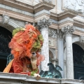Italia, in straie de sarbatoare: Vezi cum arata Carnavalul de la Venetia in 2010 - Foto 13 din 36
