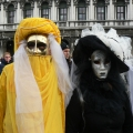 Italia, in straie de sarbatoare: Vezi cum arata Carnavalul de la Venetia in 2010 - Foto 25 din 36
