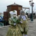 Italia, in straie de sarbatoare: Vezi cum arata Carnavalul de la Venetia in 2010 - Foto 32 din 36
