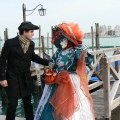 Italia, in straie de sarbatoare: Vezi cum arata Carnavalul de la Venetia in 2010 - Foto 33 din 36