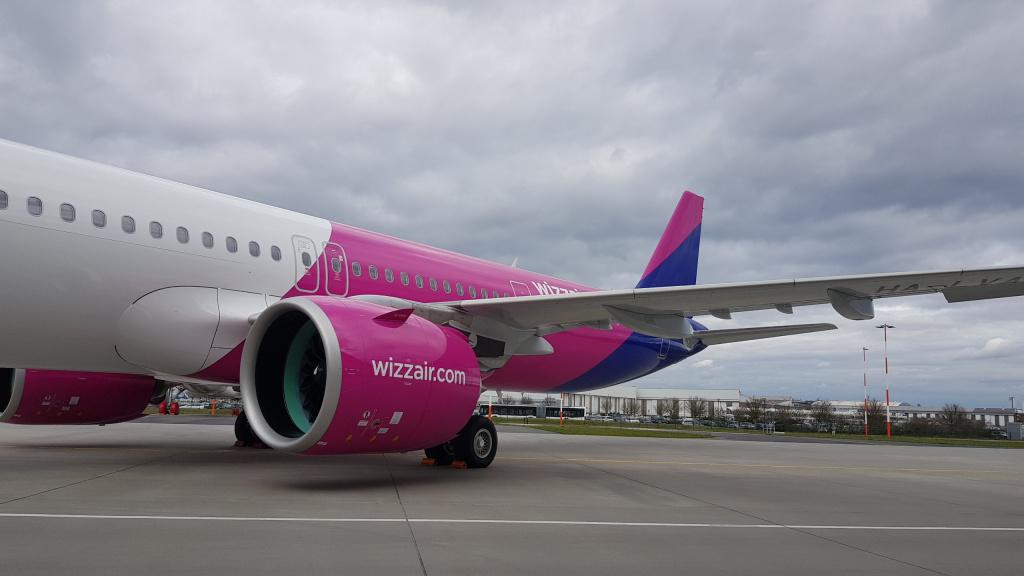 [Galerie foto] Cum arata cel mai nou avion Airbus din flota Wizz Air - Foto 1 din 19
