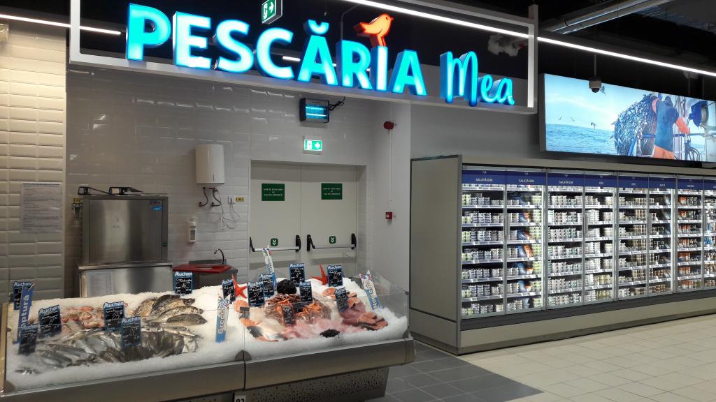 FOTO Auchan Romania a deschis Auchan Liberty, cel mai mare supermarket din Romania - Foto 5 din 9