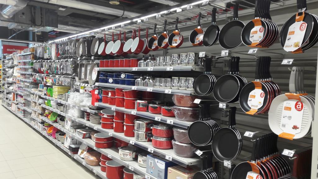 FOTO Auchan Romania a deschis Auchan Liberty, cel mai mare supermarket din Romania - Foto 9 din 9