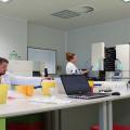FOTO  Cum arata si cum sunt stocate probele in cea mai mare banca de celule stem din Europa - Foto 1
