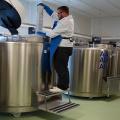 FOTO  Cum arata si cum sunt stocate probele in cea mai mare banca de celule stem din Europa - Foto 8