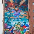 GALERIE FOTO Bacaul, orasul cu cele mai multe picturi murale care purifica aerul din Europa - Foto 3