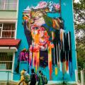 GALERIE FOTO Bacaul, orasul cu cele mai multe picturi murale care purifica aerul din Europa - Foto 4