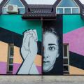 GALERIE FOTO Bacaul, orasul cu cele mai multe picturi murale care purifica aerul din Europa - Foto 7