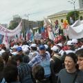 Miting, Piata Victoriei - Foto 10 din 49