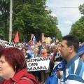 Miting, Piata Victoriei - Foto 13 din 49