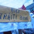 Miting, Piata Victoriei - Foto 32 din 49