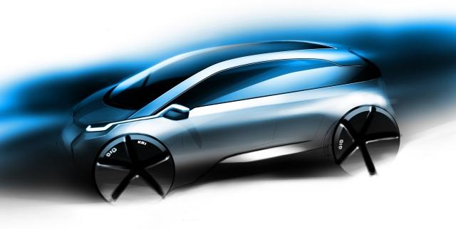 Primele poze cu viitorul BMW electric de serie - Foto 1 din 4