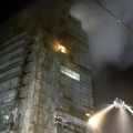 Incendiu la Millennium Business Center - Foto 3 din 5