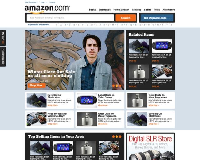 """Design-ul, """"regina site-urilor"""". Vezi noi concepte grafice pentru Google, Amazon sau Facebook - Foto 1 din 18"""