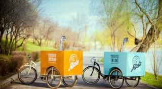 Frizzante Ride, o afacere pe trei roti