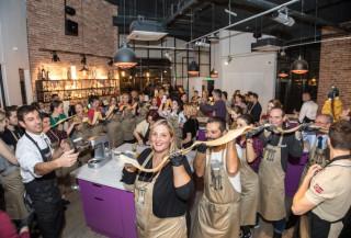 Centru de divertisment culinar: afacere cu petreceri si cursuri de gatit