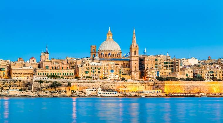 Locul 2: Valletta, Malta