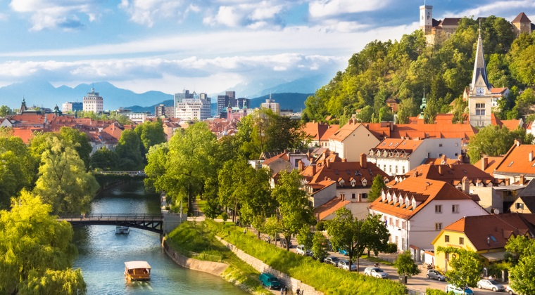 Locul 5: Ljubljana, Slovenia