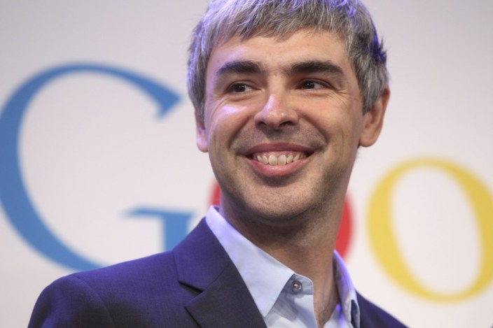 Larry Page, co-fondator Google si CEO al alfabetului Inc